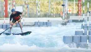 Vector Wero Whitewater Park Paddle Boarding
