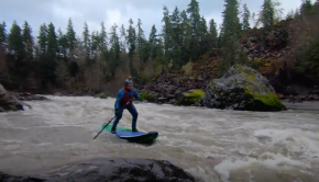Whitewater SUP - Toutle River ~ 4000 cfs