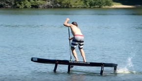 The first SUP RACE FOIL