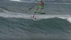 Hydrofoil Surfing - Austin Kalama at Paia Bay
