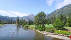 Stand up Paddle Board Leavenworth & SUP The Wenatchee River