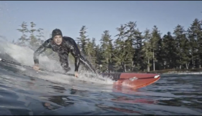 Wild Coast: SUP Surfing in Tofino, BC