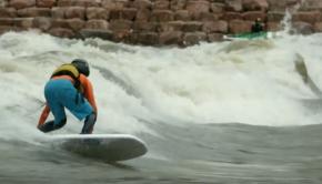 Badfish SK8 River Surfboard