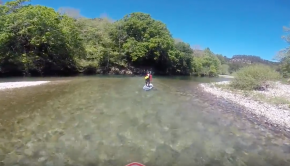 Cares and Deva rivers in Asturias and Cantabria, northern Spain