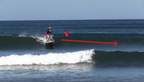 Looking Down the Line - Nosara Paddlesurf SUP Surf Coaching Video #2