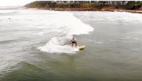 Stand Up Paddle Board Surfing at its best - SUP Surf at QLD Titles 2018