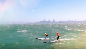 San Francisco Bay 40mph SUP Downwinder