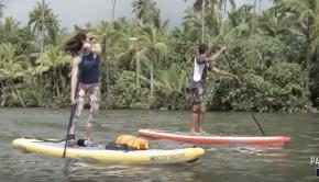 Stand Up Paddling Taha'a Tahiti