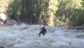 Whitewater SUP Colorado 5