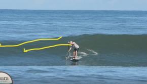 Nosara Paddlesurf SUP Surf Coaching Guest Video Feedback - #1