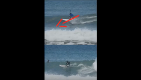Nosara Paddlesurf SUP Surf Coaching Guest Video Feedback Frontside Cutback
