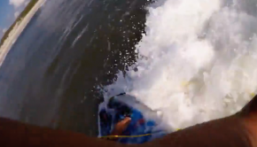 JLAY SUP Surfing : Roundhouse to 360 Rebound