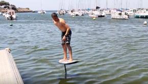 GONG surf foil dock to dock