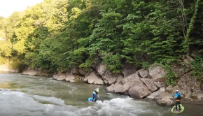 Secret Spot Nolichucky Surfing