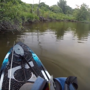 Hitting The River On The SICKEST Fishing Stand Up Paddleboard! VIBE MAVERICK 120