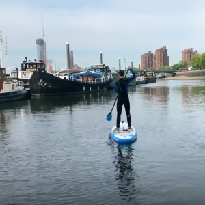 SUP Adventure down the Thames: Paddling to Oliver's Island with Bluefin SUPs!