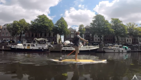 Discovering Gorichem, Netherland, from the water!