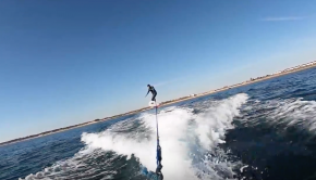 North East SUP Surfer on a mission to foil!