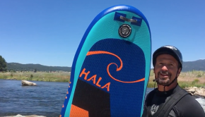 Hala Milligram Inflatable SUP Review//Kelly's whitewater park is the best!