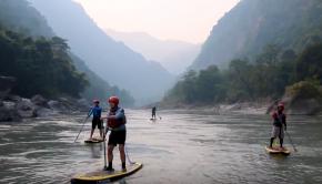 Nepal SUP adventure trip down the Kali Gandaki River with Water Skills Academy