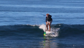 J-Stroke For SUP Surfing - #1 SUP surf paddling technique to catch more waves and surf better!