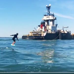 Tanker Wave Foil Surfing