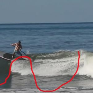 Generating Speed - Nosara Paddlesurf SUP Surf Coaching Video - #10
