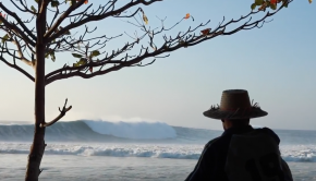 Desert Point SUP Surfing with Zane Schweitzer