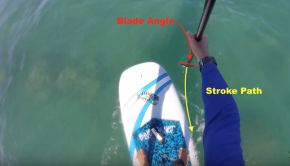 How To SUP Foil #1: Paddling straight on a shorter board
