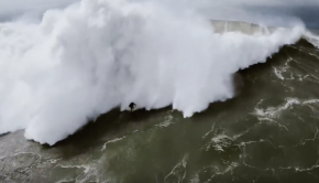 WSL Big Wave Tour. Over the Edge.