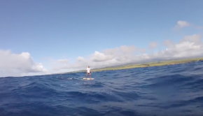 Maliko Gulch Downwind FOIL | Tow in Surf