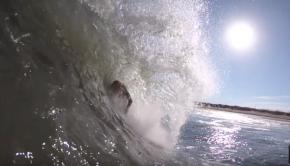 DUMPING SHORE BREAK SURF