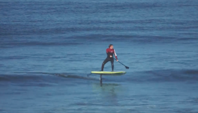 How to SUP Surf Foiling ► TUTORIAL