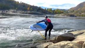 Rock Island Standing Wave - Land Locked Surfing