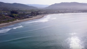 2018 VESL Surf Series 8'10 SUP - Churches, CA