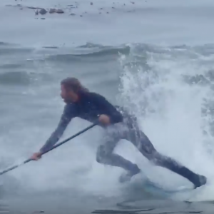 Foil Surfing Wipeouts