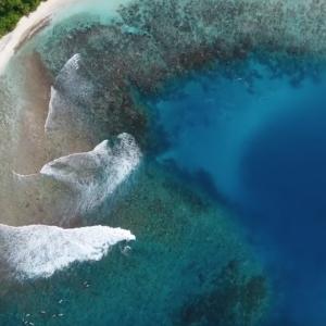 Maldives sup surf trip 2018