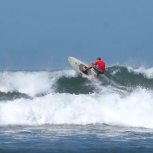 Smash the Lip - SUP Surfing at Blue Zone SUP - Nosara, Costa Rica