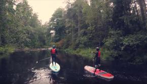 White Water SUP - Roschinka river