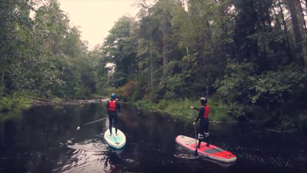 White Water SUP - Roschinka river