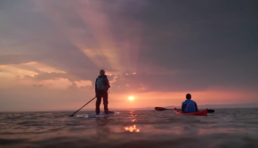Cal Major, Paddle Against Plastic, 2018 teaser - SUP Land's End to John O'Groats