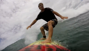 Surfing the Blue Planet 7'6 Funmaster- Fabrice Beaux