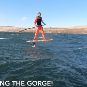 How to Downwind SUP Foil with TJ Gulizia