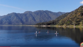 A Paddle Board Tour Around Lake Atitlan with Stand Up Paddle Atitlan and Isle Surf and SUP
