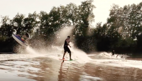 Amazing Tidal Bore Foil Surfing | MASCARET