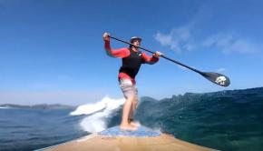 Okinawa Off Shore Reef Break (SUP Surfing)