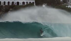 Sebastian Gomez - SUP surfing in Puerto Escondido, Mexico