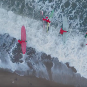 Christmas 2018 is Cancelled - Santa Went Surfing