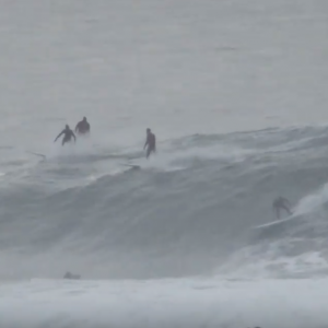 Mavericks Big Wave Surf - Party Wave - Wipeout!!