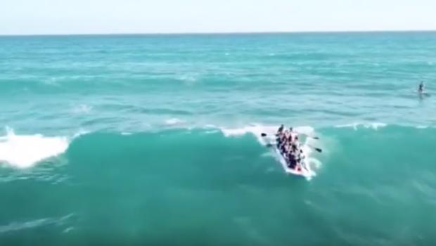 SUPersized Paddle Surfing